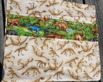 Pillowcase, Cotton Pillowcase, Dinosaurs, Standard Pillowcase, Kids Pillowcase