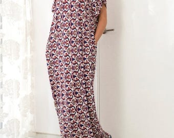 SALE ON 20 % OFF Caftan/ Maxi Dress/ Kaftan/ Plus size dress/ Summer dress/ Sundress/ Casual dress