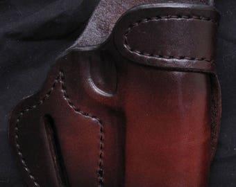 Custom Handmade Brown/Black Holster for 1911
