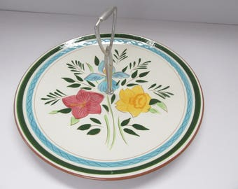 Stangl Country Garden Tidbit Plate Tray