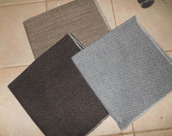 3 Upholstery Fabric Samples