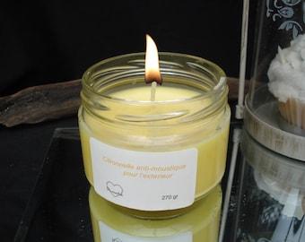 Citronella mosquito jar candle