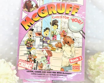 1991 Burger King Proudly Presents: McGruff Cares For You Audio Cassette And 16 Page Song Book #3