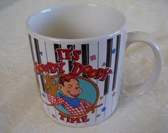 Vintage HOWDY DOODY COFFEE Mug/1988