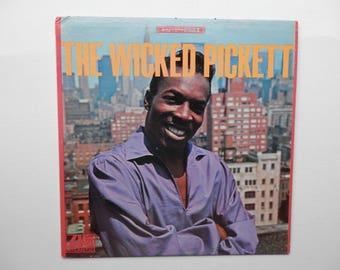 Wilson Pickett ..... The Wicked Pickett ..... 1966 Stereo LP on ATLANTIC..FREE shipping !!!