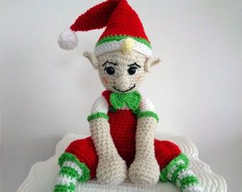 Crochet Christmas Elf - Amigurumi Elf