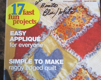 Quick Quilts March 2004