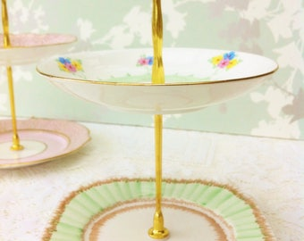 Lawned Garden 2 Tier Mini Cake Stand