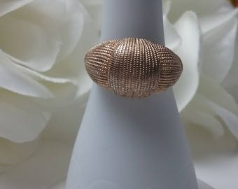 Vintage Avon Ring - Gold Plated Ring- A Varied Size