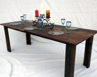 Farmhouse Dining Table made with Reclaimed Wood