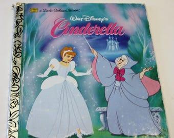 Disney's Cinderella a Little Golden Book, Children's Book, Disney Book, Cinderella Book, Princess Book