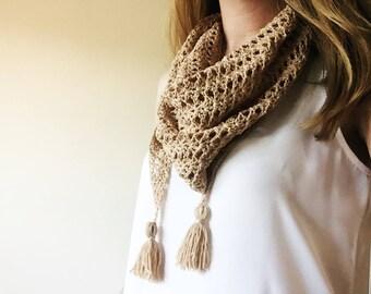 By the Sea: A Crochet shawl PDF Pattern