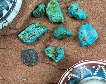 Cripple Creek Colorado Turquoise Nuggets 28.7 grams HARD 100% Natural #4288