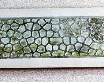 Tim Holtz Alterations Cobblestones Decorative Strip Die from Sizzix