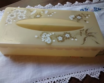 Vintage tissue box cover