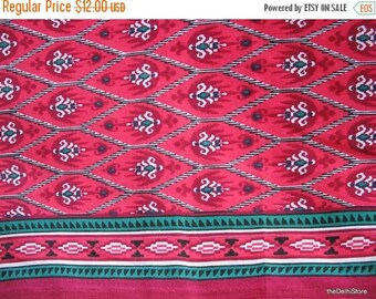 Flat 40% off Ikat Print Cotton Fabric Sold by Yard