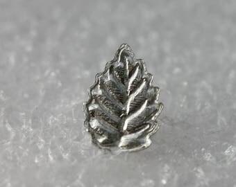 Sterling Silver leaf