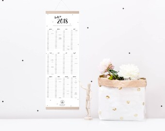 Wall calendars 2018