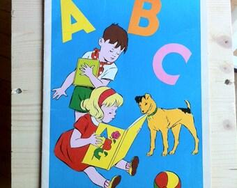 Vintage french alphabet book, Willeb éditions, Paris,