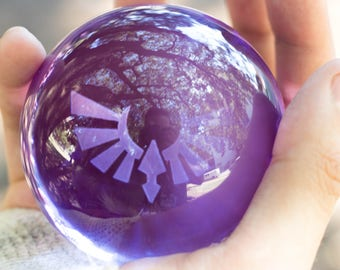 Spirit Orb - Legend of Zelda Breath of the Wild Glass Sculpture