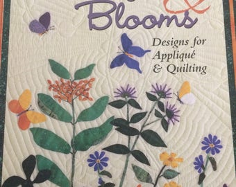 Butterflies Blooms by Carol Armstrong   Designs for Appliqué & Quilting