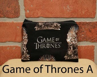 One Snack Sack, Game of Thrones, Flannel, Reusable Lunch Bags, Waste-Free Lunch, Machine Washable, Back to School, School Lunch, item #SS56
