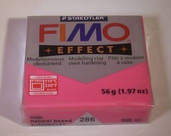 Bread 56gr polymer Fimo Effect Ruby quartz No. 286