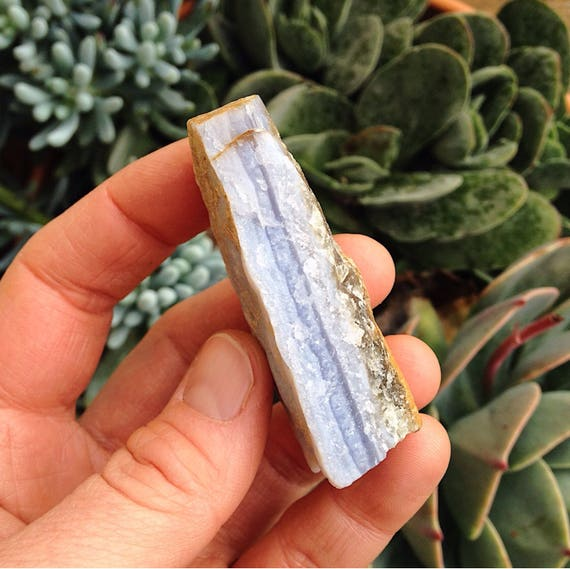 Blue Lace Agate raw piece
