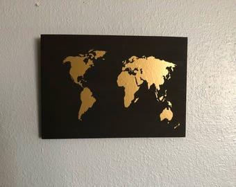 World map chalkboard etsy chalkboard map gumiabroncs Gallery