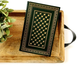 Final Harvest | Poems • Emily Dickinson • The Franklin Library • 1984 Limited Edition • green leather book
