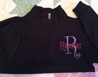 Girls Monogram Jacket