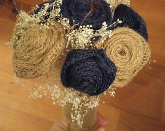 Burlap Bouquets