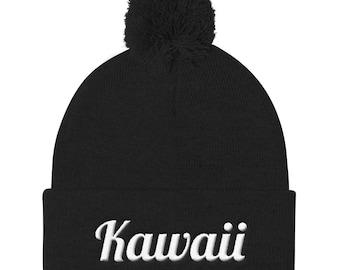 Kawaii Pom Pom Beanie