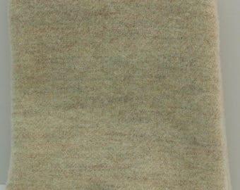 Vanilla Cream  Fat Quarter Yard, Felted Wool Fabric for Rug Hooking, Wool Applique & Crafts