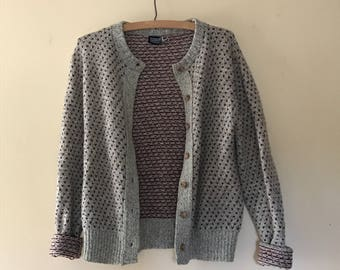 Vintage Land's End Knit Cardigan