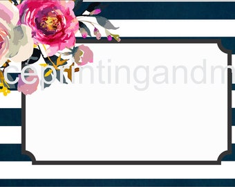 sublimation License Plate template digital