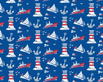 All at sea greeting card designed by Kate Cooke