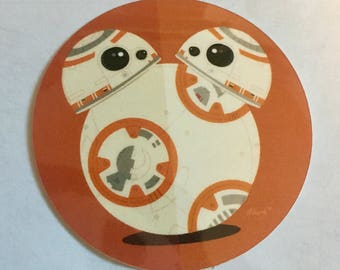 BB-8 Hidden Mickey Sticker