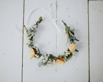 1970s Folk Flower Crown