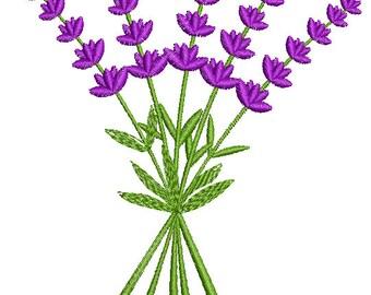lavender embroidery - Machine Embroidery Design