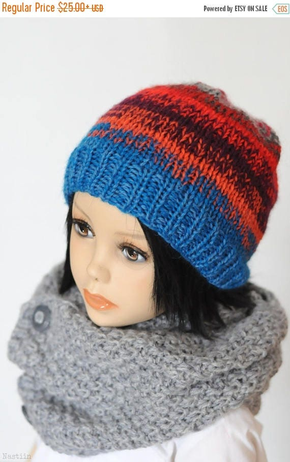 SALE Toddler knit hat Girls knit beanie hat Boys knitted hat Baby hat  Knitted hats for fbb15b6f86e