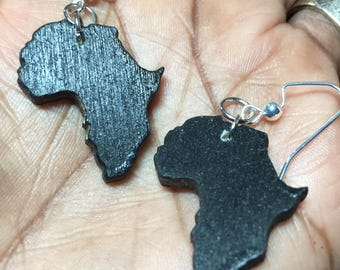 Tiny African Earrings