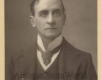 John Hare actor theater manager antique UK England photo