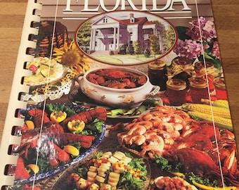 Seasonal Florida Vintage Cookbook