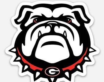 UGA Bulldogs | Die Cut Vinyl Sticker