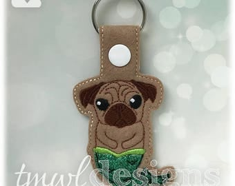 Merpug Key FOB Digital Design File