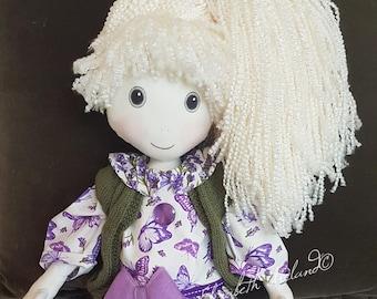 OOAK 25 inch (61cm) large cloth doll OLIVIA