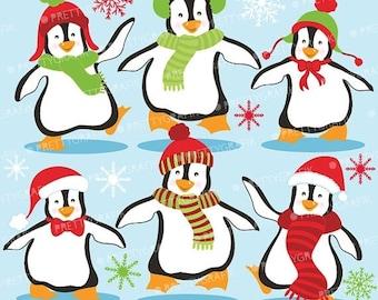 80% OFF SALE 80 Percent 0FF Sale Penguins clipart commercial use, vector graphics, digital clip art, digital images  - Cl586