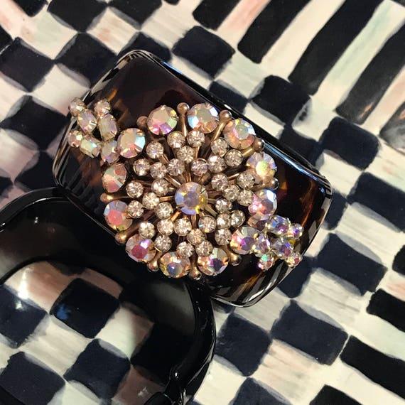 Diamonds and Rust Original Design Vintage Bracelet