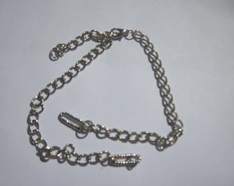 Garnish (A82) silver metal chain